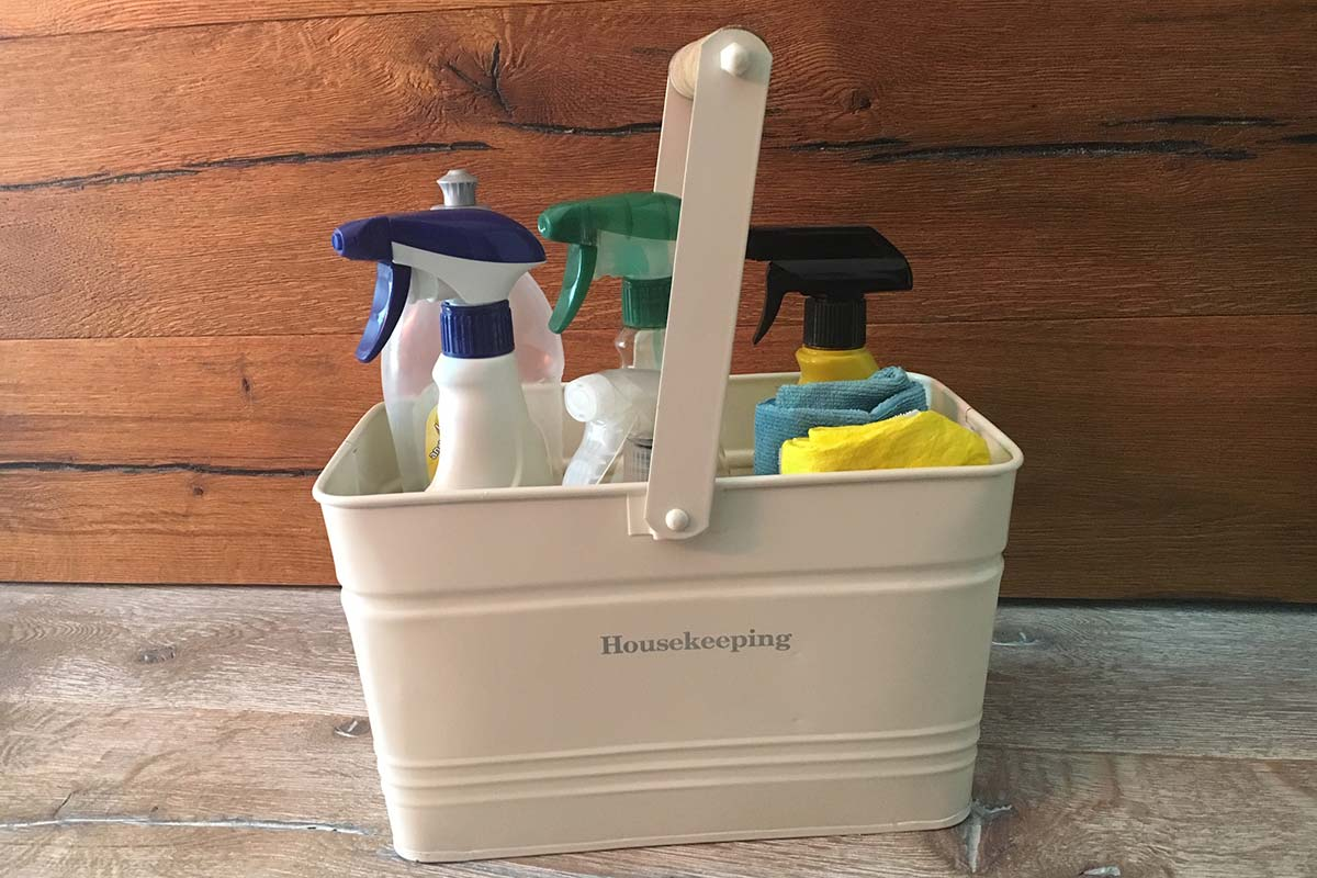 Clever cleaning products storage tips