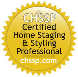 Certified home staging and styling professional