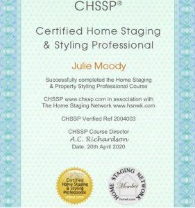 CHSSP certificate